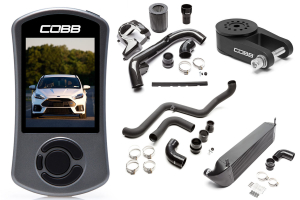 COBB Tuning Stage 2 Power Package Black - Ford Focus RS 2016+