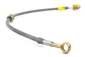GoodRidge G-Stop Stainless Steel Brake Lines Front/Rear ( Part Number:GOO 24212-CL)