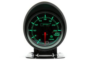 ProSport EGT Gauge Electrical w/Sender Green/White 52mm ( Part Number:PRS 216SMWGEGTSWL270-PK.F)