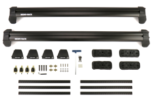 Rhino-Rack Vortex 2500 RS Black 2 Bar FMP Roof Rack - Subaru Impreza Hatchback 2017+