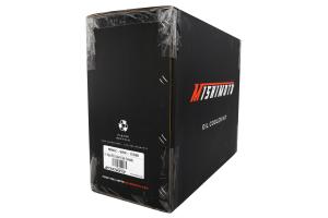 Mishimoto Thermostatic Oil Cooler Kit Black - Subaru WRX 2015+
