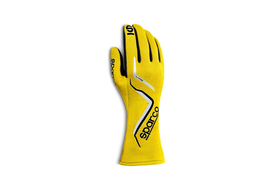 Sparco Land Racing Gloves Yellow - Universal