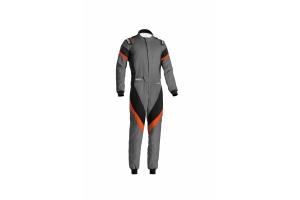 Sparco Victory Racing Suit Grey / Orange - Universal