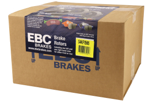 EBC Brakes S4 Front Brake Kit Redstuff Pads and USR Rotors - Subaru Models (inc. 2011-2014 WRX / 2011-2013 Forester XT)