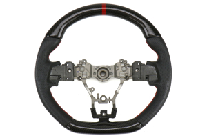 FactionFab Steering Wheel Carbon and Leather - Subaru WRX / STI 2015 - 2020