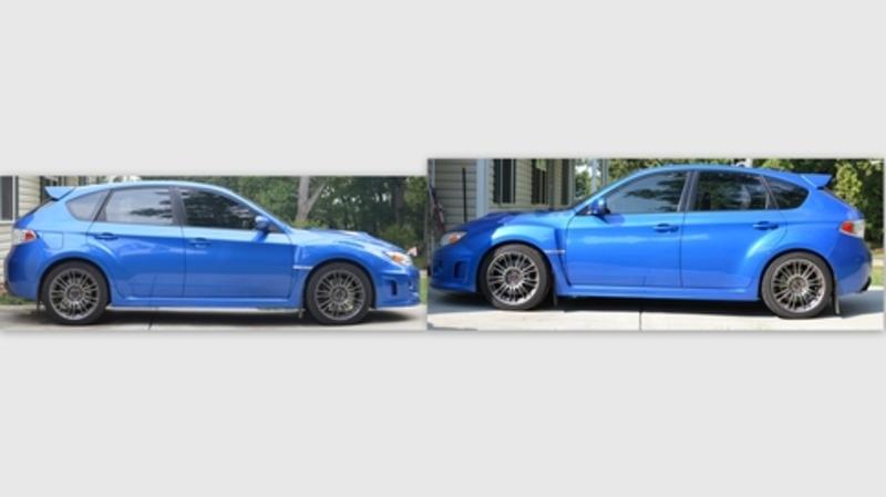 2005 Subaru Wrx Sti >> Eibach ProKit Lowering Springs - Subaru WRX STI 2008-2014 ...
