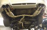 Invidia Gemini R400 Single Layer Cat Back Exhaust w/Titanium Burnt Tips ( Part Number: HS11STIGM4ST)