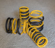 Racecomp Engineering Yellow Lowering Springs ( Part Number: VA360WRX)