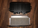 Process West Top Mount Intercooler w/Shroud Kit Black ( Part Number: PWTMIC03B-KIT)