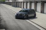 Maxton Gloss Black Front Splitter V1  ( Part Number: VWGO7GTIFD1G)