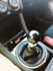 Killer B Motorsport WRC Style Round Shift Knob Black Brushed 6MT ( Part Number: PART X)