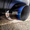 Invidia Titanium Tip Racing Cat Back Exhaust Single Exit ( Part Number: HS08SW4GST)
