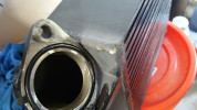 Mishimoto Black Top Mount Intercooler w/ Black Hose ( Part Number: MMTMIC-WRX-08BKBK)