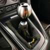 AutoStyled 6 Speed Shift Knob Black w/ Stainless Steel Center ( Part Number: 1501020503)