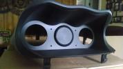SMY ClusterMaker Blank Gauge Insert Black 52mm ( Part Number: SMYBLANK1)