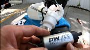 DeatschWerks DW300C Series Fuel Pump w/ Install Kit ( Part Number: 9-307-1010)