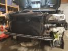 Process West Front Mounted Intercooler Kit Black ( Part Number: PWFMIC07B)
