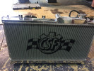 CSF Racing Radiator w/ Built-in Oil Cooler ( Part Number: 7042O)