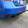 Remark Axle Back Exhaust Muffler Delete Burnt Double Wall Tips ( Part Number: RO-TTVA-D)