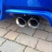 Nameless Performance Muffler Delete Double Wall Polished Tips (Part Number: )