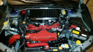 User Media for: Process West Black Top Mount Intercooler - Subaru STI 2008+