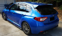 Subaru OEM Rain Guards (Part Number: )