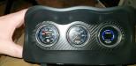 User Media for: ATI Center Gauge Pod Face Carbon Fiber - Subaru WRX/STi 2002-2007