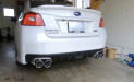 Invidia Q300 Cat Back Exhaust Stainless Tips (Part Number: )