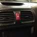 Subaru Red Hazard Button (Part Number: )