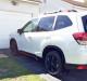 User Media for: Rally Armor UR Mudflaps Black Urethane White Logo - Subaru Forester 2019+