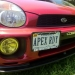 User Media for: Lamin-X Foglight Covers (Multiple Colors) - Subaru WRX 2002-2003