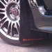 Rally Armor UR Mudflaps Black Urethane Red Logo V2 (Part Number: )