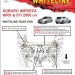 Whiteline Rear Diff Positive Power Kit Inserts (Part Number: )